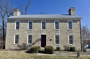 National Register of Historic Places listings in Lincoln County, Missouri - Image: Old Rock House