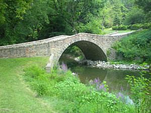 Derry Township, Mifflin County, Pennsylvania - Jack's Creek bridge, built 1813