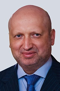 Oleksandr Turchynov Ukrainian politician
