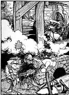 Eitri Dwarven smith from Norse mythology