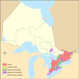 Ontario's census divisions