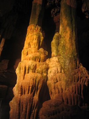 Onyx Cave (Arkansas) - Cave formation inside Onyx Cave