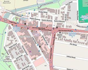 Stones Corner, Queensland - Open Street Map - Stones Corner, 2014