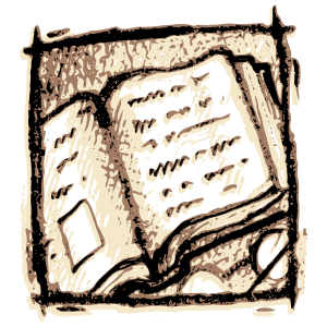 English: Open book icon
