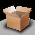 Open cardboard box husky.png