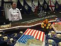 Open house on the hangar deck of the USS Carl Vinson while docked in Singapore - 20141002-05.jpg