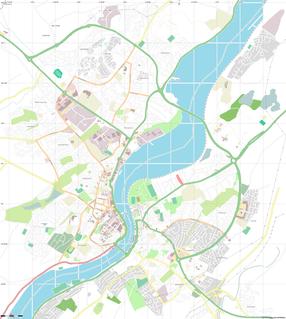 Bogside Neighbourhood of Derry, Northern Ireland