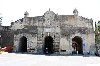 Orbetello - The main gate of Orbetello.