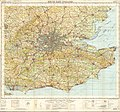 Ordnance Survey Quarter-inch sheet 17 South-East England, published 1962.jpg