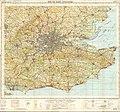 Ordnance Survey Quarter-inch sheet 17 South-East England, published 1962.jpg