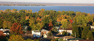 Ottawa River - The Ottawa River in the autumn