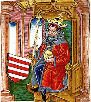 Otto III, Duke of Bavaria - Image: Otto (Chronica Hungarorum)