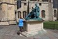 Outside York Minster - geograph.org.uk - 2496011.jpg