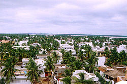 View of central Yanam
