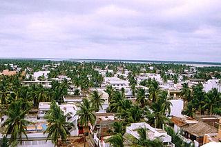 Town in Puducherry, India