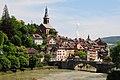 Overviewpanorama of the German Laufenburg along the Rhine river - panoramio.jpg