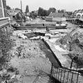 Overzicht opgravingen pelikaanstoren en stadsmuur gezien naar het noorden - Leiden - 20133710 - RCE.jpg