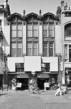overzicht voorgevel, detail eerste en tweede etage, winkel - tilburg - 20344079 - rce