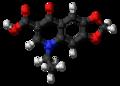 Oxolinic acid molecule ball.png