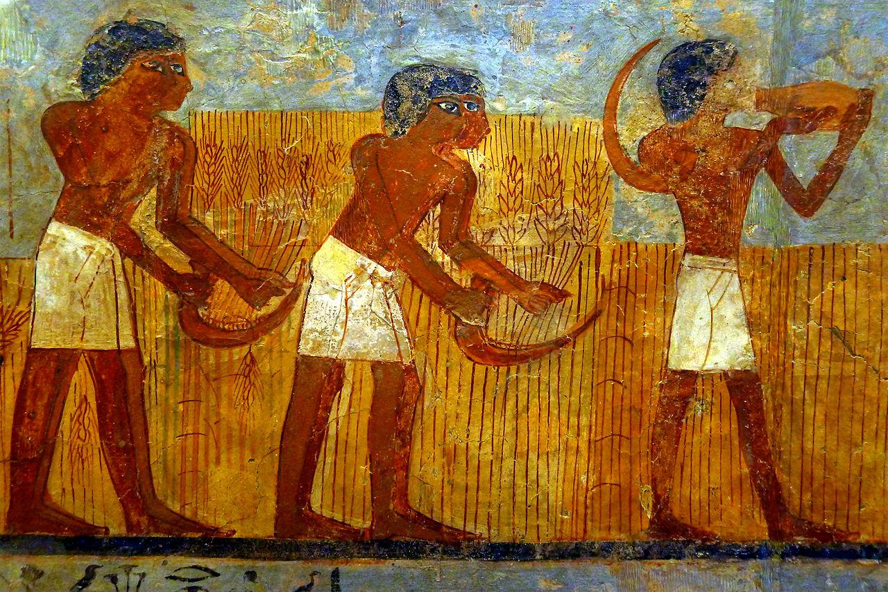 File p1200346 louvre peinture tombe ounsou n1431 for Les differents types de peintures murales