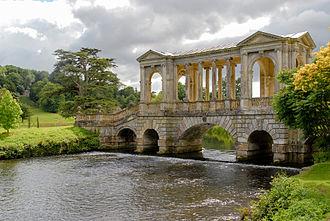 Henry Herbert, 9th Earl of Pembroke - The Palladian bridge