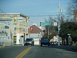 Main Street in Fleetwood