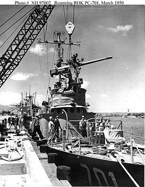 USS PC-823 - Image: PC 701 Pak Tu San