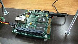 PC/104 - A PCI-104 single-board computer.