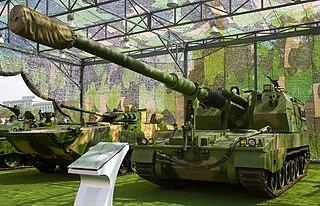 PLZ-05 self-propelled artillery