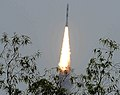 PSLV-C23, successfully launched from Satish Dhawan Space Centre (SDSC), SHAR, at Sriharikota, in Andhra Pradesh on June 30, 2014.jpg