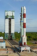 PSLV C-35 at the launch pad.jpg