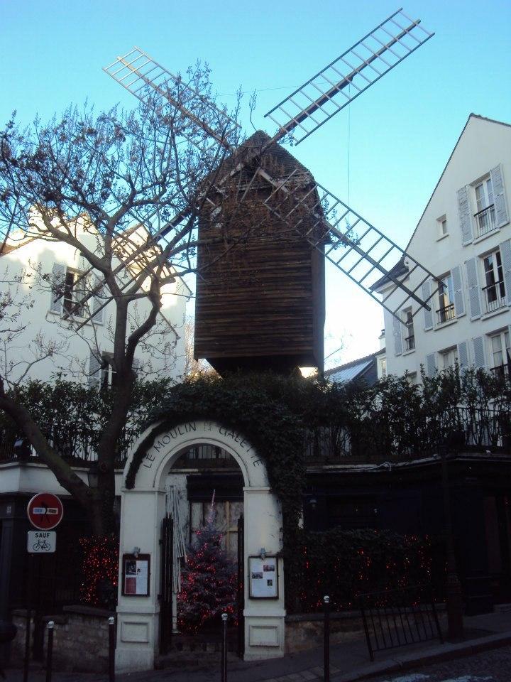 Pařížský větrný mlýn