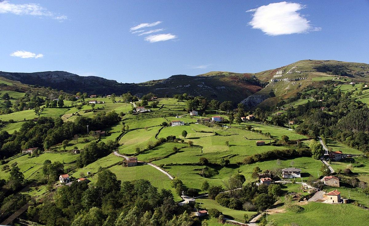 Minifundio wikipedia la enciclopedia libre - Casas rurales en el norte de espana ...