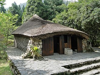Paiwan people - A Paiwan family house in Formosan Aboriginal Culture Village.