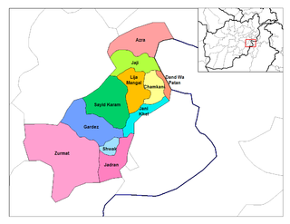 Zadran District district of Afghanistan
