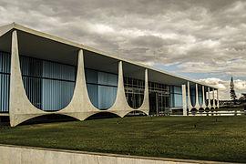 Palácio da Alvorada, Presidential residence, 1957