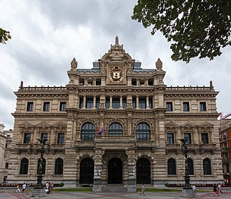 Abando - Image: Palace of the Biscay Foral Council