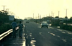 Palapye, looking towards Morupule Power Station, 1987