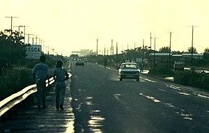 Palapye - Palapye, looking towards Morupule Power Station, 1987
