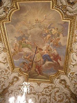 Anton Domenico Gabbiani - Ceiling fresco at Pallazzo Medici Riccardi