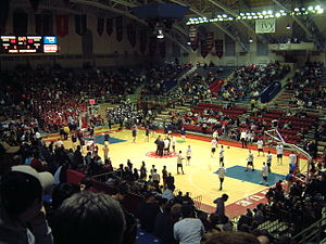 Philadelphia Big 5 - At the Palestra prior to a St. Joe's – Penn basketball game.