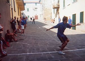 "Palla - ""Palla eh!"" game in Vetulonia, 2001"