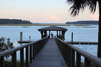 Bluffton, South Carolina - Palmetto Bluff at Montage Resort in Bluffton