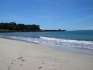 2006 Pangandaran earthquake and tsunami - Image: Pamengpeuk Beach, Garut