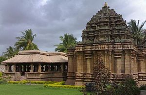 Belgaum district -  Panchalingeshwara temple Hooli
