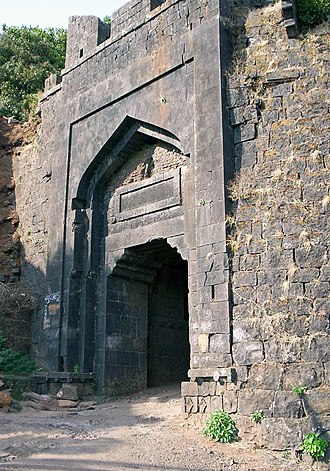 Panhala Fort - Konkan Darwaja - Another entrance to the fort