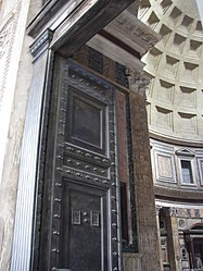 Pantheon (Rome) entrance door 2.jpg