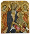 Paolo di Giovanni Fei. Madonna with Child and Angels. Hermitage, Sanct Petersburg..jpg