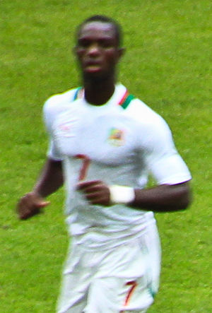 Moussa Konaté (footballer) - Konaté playing for Senegal at the London Olympics in 2012