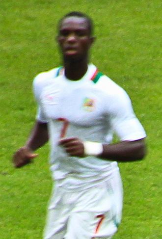 Moussa Konaté (footballer) - Konaté playing for Senegal at the London Olympics in 2012